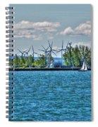 Summer Breeze From Lasalle Park Spiral Notebook