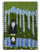Summer Cat Spiral Notebook