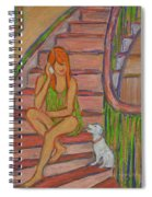 Summer Chat Spiral Notebook