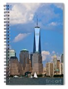 Summer Cityscape Nyc  Spiral Notebook