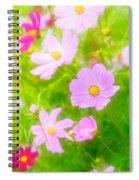 Summer Colours Spiral Notebook