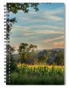 Summer Corn Square Spiral Notebook