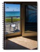 Summer Cottage Spiral Notebook