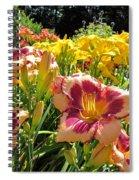 Summer Daylilies Spiral Notebook