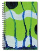 Hot Summer Day Spiral Notebook