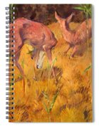 Summer Deer Spiral Notebook