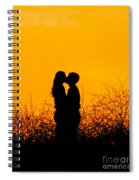 Summer Evening Love Spiral Notebook