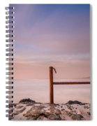 Summer Evening On North Jetty Spiral Notebook