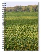 Summer Farm Field Spiral Notebook