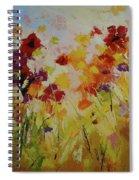 Summer Field Spiral Notebook