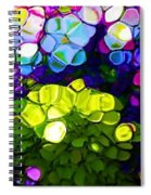 Summer Flowers In The Country Spiral Notebook