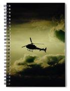 Summer Flying Spiral Notebook