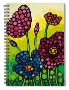 Summer Garden 2 Spiral Notebook