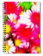 Summer Garden Spiral Notebook