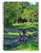 Summer Gate Spiral Notebook