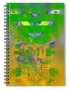 Summer Heat Through The Window Spiral Notebook