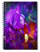 Summer Hummers Spiral Notebook