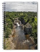 Summer In Asuable Chasm Spiral Notebook