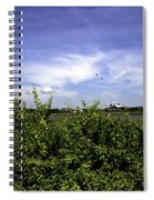 Summer In Bridgehampton Spiral Notebook