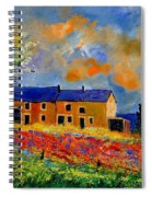 Summer In Houroy 57 Spiral Notebook