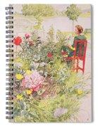 Summer In Sundborn Spiral Notebook