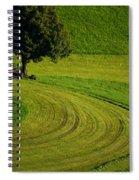 Summer In Switzerland Spiral Notebook