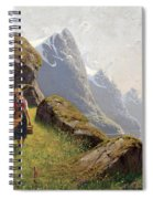 Summer In The Fjord Spiral Notebook