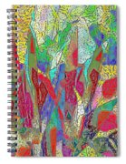 Summer In The Meadow Spiral Notebook