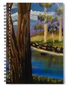 Summer In The Snowy River Region Spiral Notebook