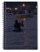 Summer Lake Evening Wait Spiral Notebook