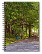 Summer Lane Spiral Notebook