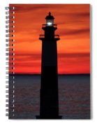 Summer Light Spiral Notebook