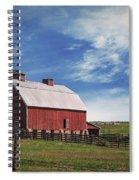 Summer Mancos Barn  Spiral Notebook