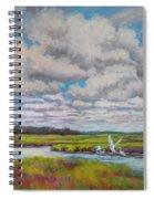 Summer Marsh Spiral Notebook
