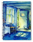 Summer Morning Visitors  Spiral Notebook