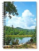 Summer Mountain Pond 2 Spiral Notebook