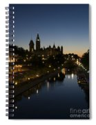 Urban Summer Night.. Spiral Notebook