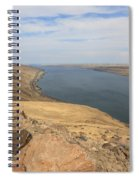 Summer On The Columbia River Spiral Notebook