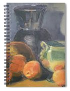 Summer Oranges Spiral Notebook