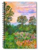 Summer Path At Rock Castle Gorge Spiral Notebook