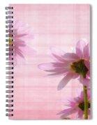 Summer Pinks Spiral Notebook