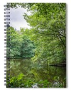 Summer Pool Cannock Chase Spiral Notebook