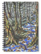 Summer Rain Spiral Notebook