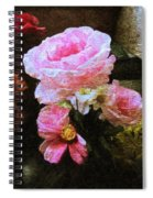 Summer Roses Spiral Notebook