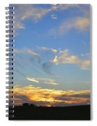 Summer Sets Panorama Spiral Notebook