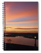 Summer Skies At Crown Point Spiral Notebook