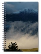 Summer Snow Spiral Notebook