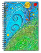 Summer Solstice Spiral Notebook