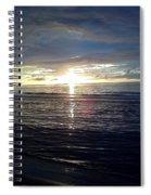 Summer Solstice Sunset Spiral Notebook