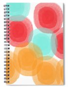 Summer Sorbet- Abstract Painting Spiral Notebook
